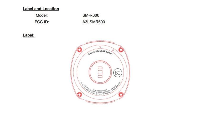 Samsung trabaja en el Gear Sport, un nuevo wearable