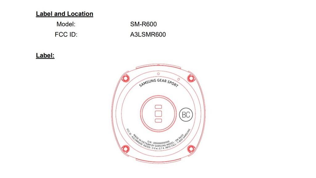 Samsung trabaja en el Gear Sport, un nuevo wearable 29