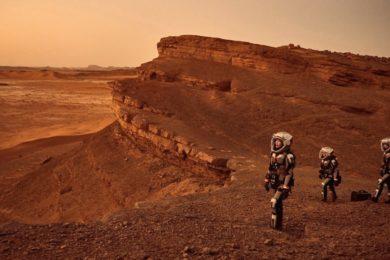 Marte 2030: vive en realidad virtual un aterrizaje sobre el planeta rojo