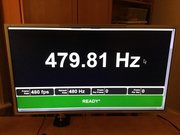 how to run 60 hz refresh on tv with amd