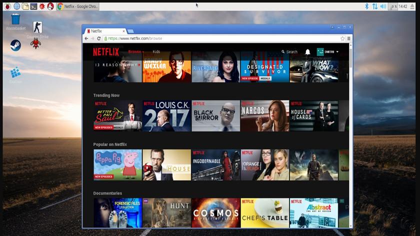 Netflix sobre Raspberry Pi