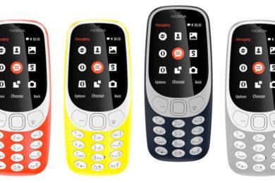 Confirmado el Nokia 3310 con 3G, llegará entre septiembre y octubre