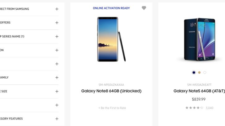 El Galaxy Note 8 aparece en la web oficial de Samsung, nuevos vídeos 32