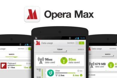 Opera Max para Android dice adiós, no recibirá nuevas actualizaciones