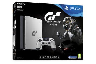 Sony anuncia PS4 Slim Gran Turismo Sport de edición limitada