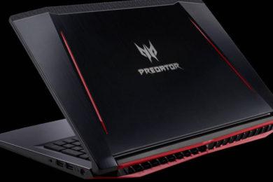 Acer presenta el portátil para juegos, Predator Helios 300