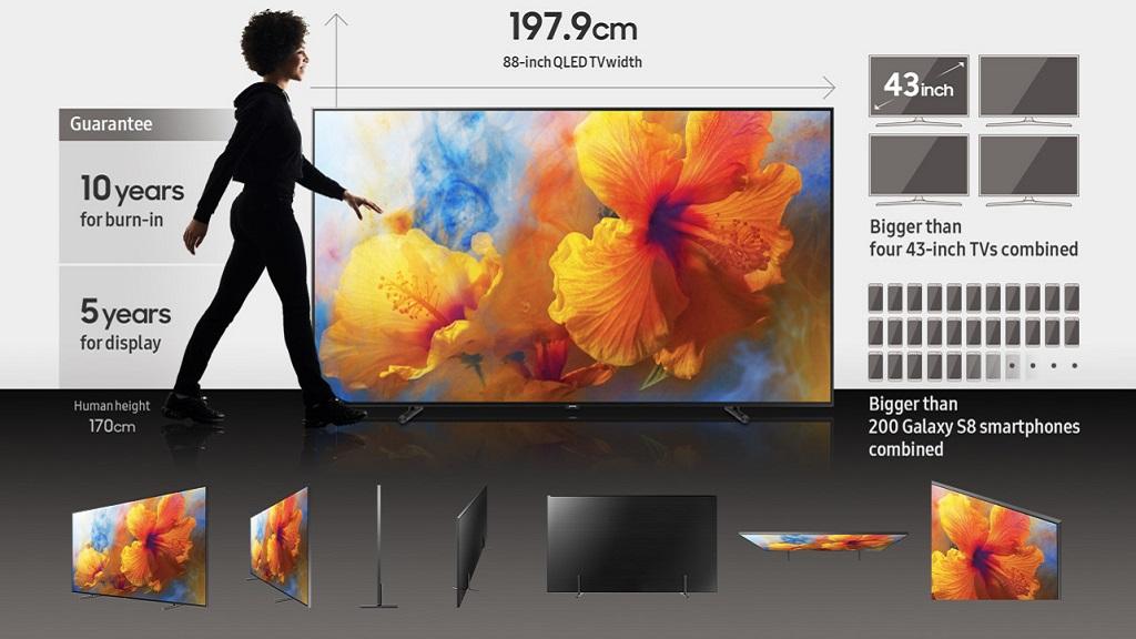 Samsung lanza su televisor Q9 de 88 pulgadas con pantalla OLED 29