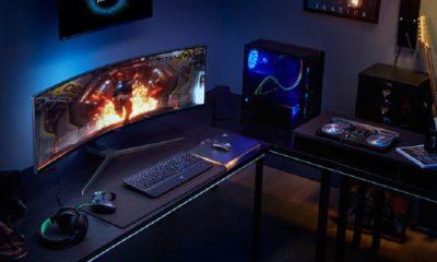 Samsung lanza el monitor gaming QLED curvado más grande del mercado 72