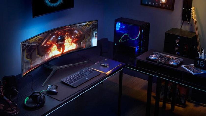 Samsung lanza el monitor gaming QLED curvado más grande del mercado 29