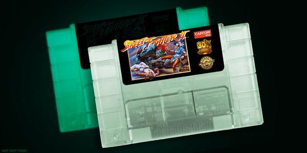 Reedición especial de Street Fighter II en cartucho para Super Nintendo 31