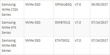 SSD serie 970