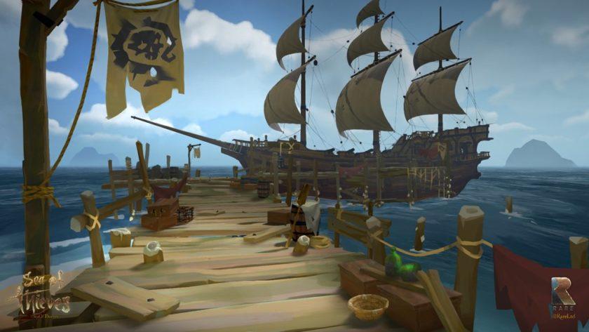 Sea of Thieves tendrá un modo con resolución 540p y 15 FPS