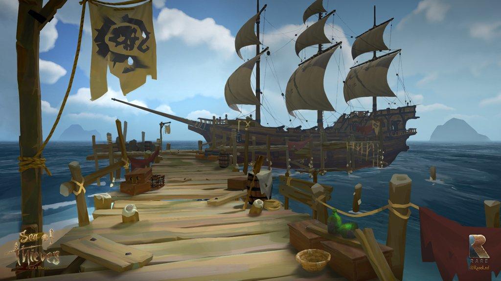 Sea of Thieves tendrá un modo con resolución 540p y 15 FPS 30