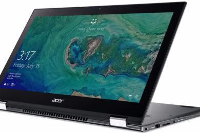 Acer actualiza los convertibles de consumo, Spin 5