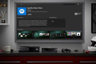 Spotify para Xbox One aparece en Internet