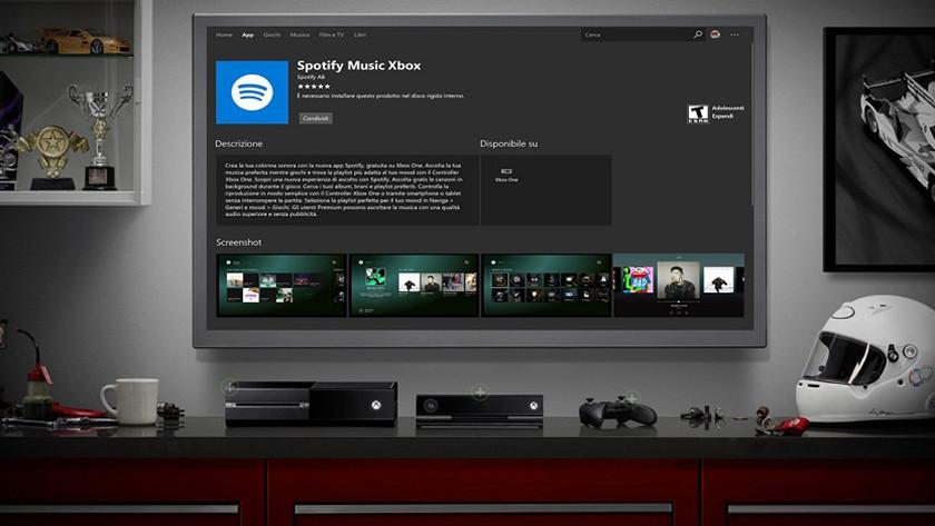 Spotify para Xbox One aparece en Internet 35