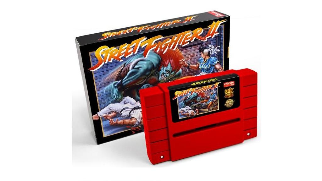 Reedición especial de Street Fighter II en cartucho para Super Nintendo 29