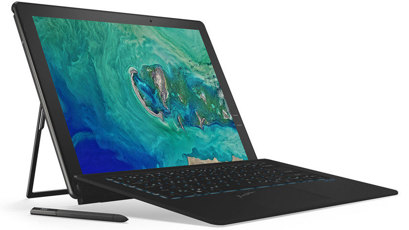 Acer sorprende con el Switch 7 Black Edition