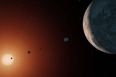 TRAPPIST-1 es mucho más viejo que nuestro sistema solar