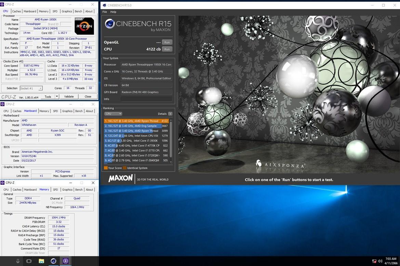 Suben un Threadripper 1950X a 5,2 GHz con todos sus núcleos activos 31