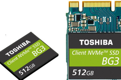 Toshiba presenta las SSD BG3