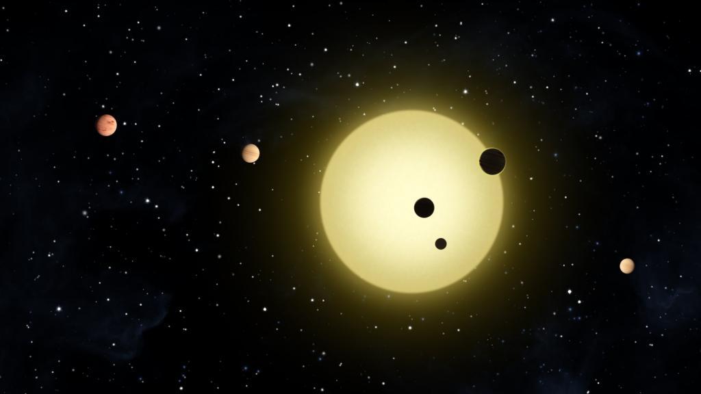 Descubren cuatro planetas de un tamaño cercano a la Tierra orbitando su propio Sol 34