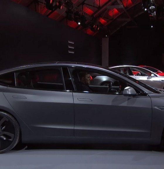 Revelada la batería y la potencia del Tesla Model 3 30