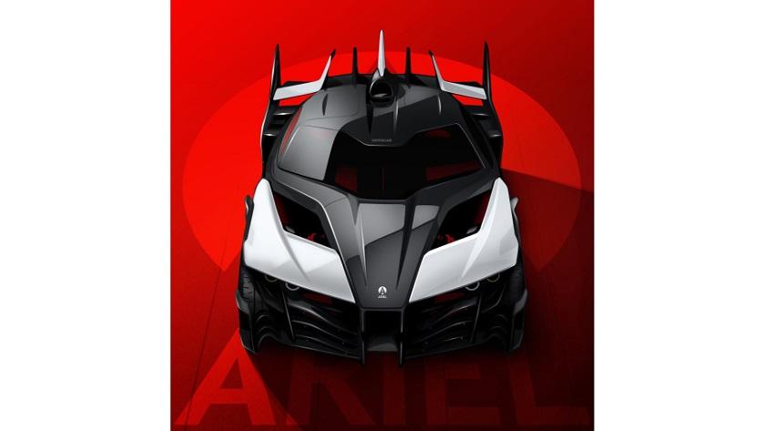 Ariel promete un coche eléctrico con 1.180 caballos de potencia 28