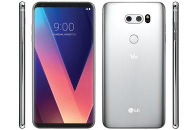 Nueva imagen nos muestra el LG V30 desde todos los ángulos