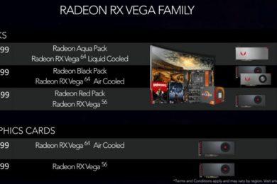 AMD aclara las dudas sobre el precio de la Radeon RX Vega 64