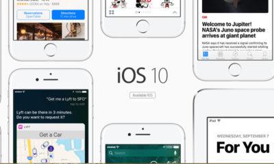 iOS 10 está instalado en el 87% de los dispositivos Apple 44