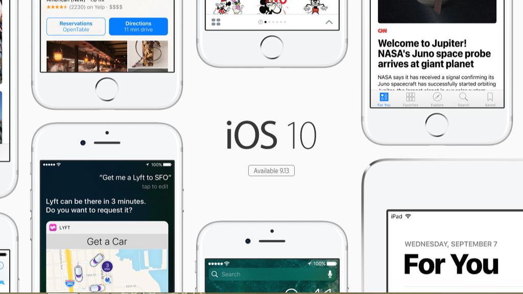 iOS 10 ya está instalado en el 87% de los dispositivos móviles de Apple