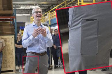 ¿Qué bulto tiene Tim Cook en los pantalones? iPhone 8