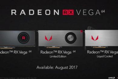 Las Radeon RX Vega mejoran su rendimiento en minado gracias los nuevos drivers