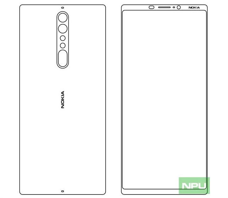 El Nokia 9 quita protagonismo al Nokia 8, tendrá pantalla 18:9 34