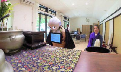 El robot Pepper puede celebrar funerales bajo el rito budista 99