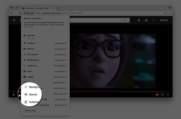 Chrome te permitirá silenciar páginas web de forma permanente 31