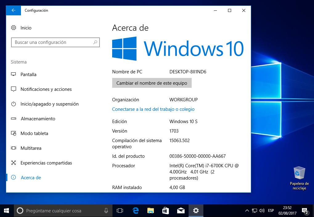 Guía completa para probar Windows 10 S en cualquier PC 43