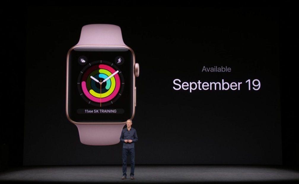 Nuevo Apple Watch Series 3, especificaciones y precio 65