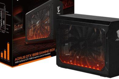GIGABYTE presenta la nueva Aorus GTX 1080 Gaming Box