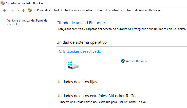 BitLocker, una buena forma de proteger tus datos en Windows 54