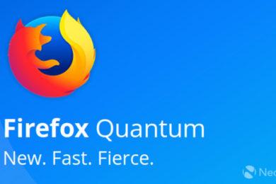Firefox Quantum promete ser más rápido, elegante y moderno
