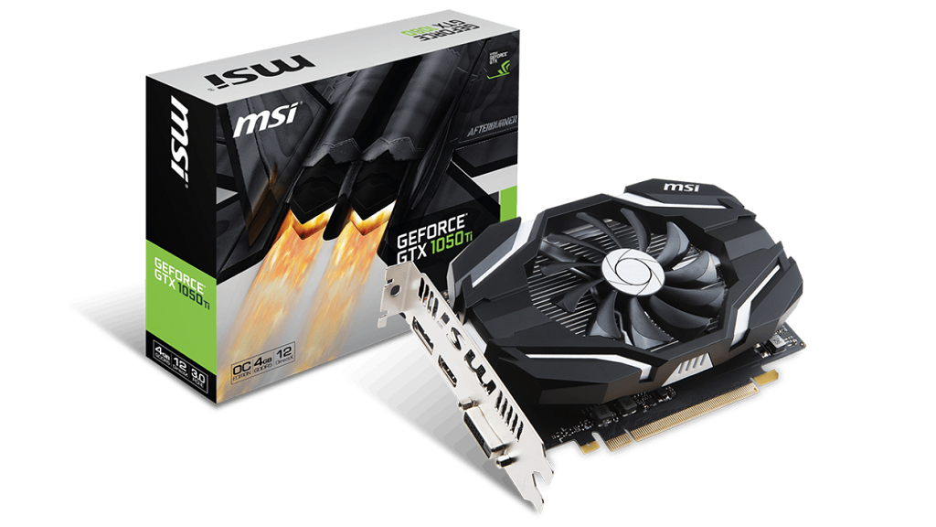 MSI amplia catálogo con la GeForce GTX 1050 Ti 4G OCV1 29