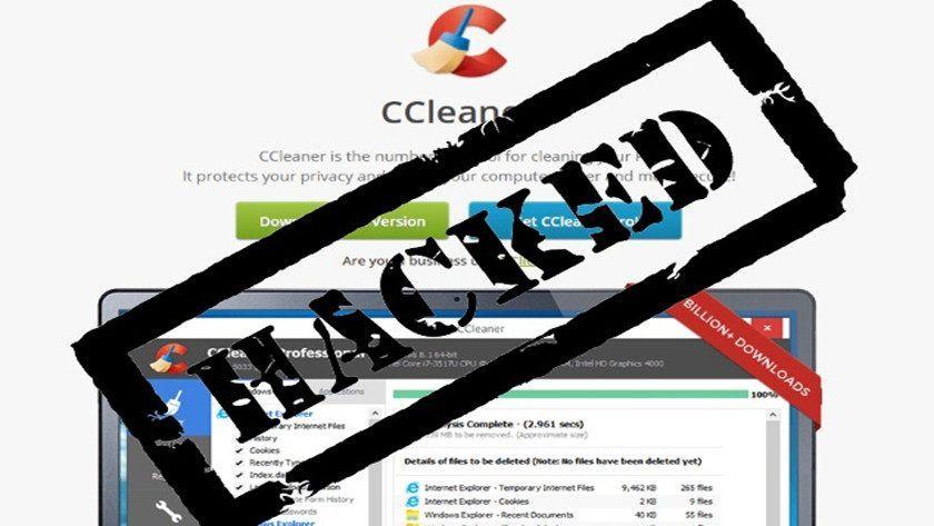 Hackean CCleaner e instalan una puerta trasera ¡Actualiza!