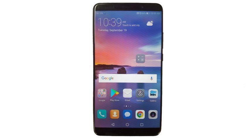 Primera imagen del Huawei Mate 10, un terminal todo pantalla