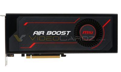 Primeras imágenes de la MSI Radeon RX Vega 64 Air Boost 63