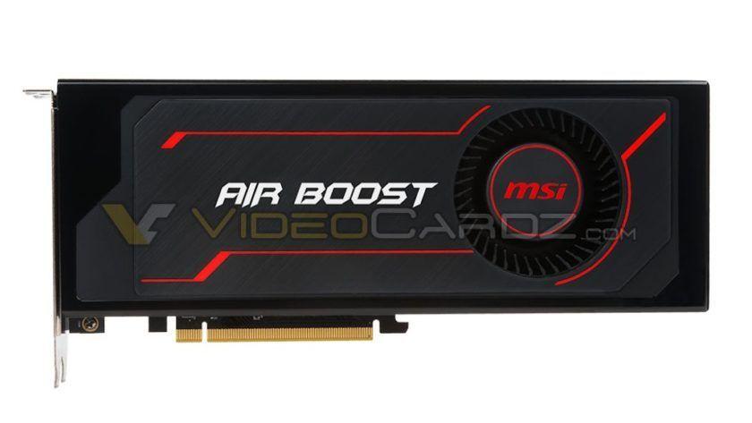 Primeras imágenes de la MSI Radeon RX Vega 64 Air Boost