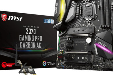 MSI presenta placas base para Intel Z370