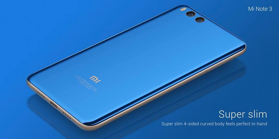 Xiaomi presenta Mi MIX 2 y Mi Note 3, sobresalientes en características/precio 38