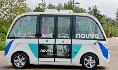 Navya, un minibus eléctrico y autónomo que da servicio gratuito 29